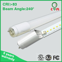 NEW 2014 high quality high brightness 85v-265v SMD 2835 dimmable t8 led tube lamp
