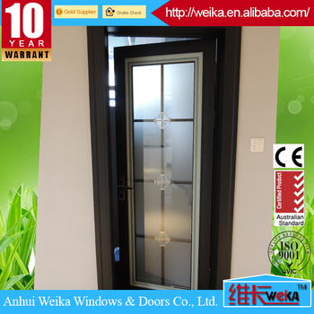 aluminum Bathroom casement door