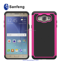 PC+TPU+Silicone Material Football Shock-proof Mobile Phone Case for Samsung J710