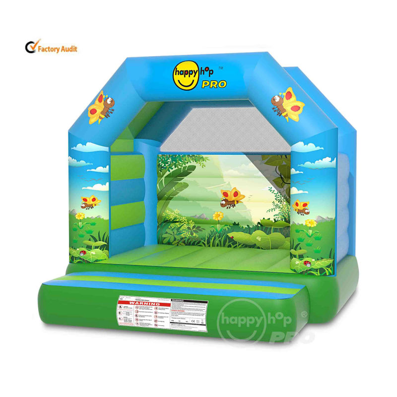 Happy Hop Pro New design 1038--Jungle Super Bouncer