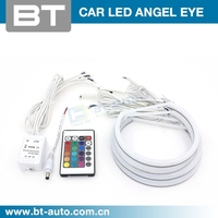 New Arrival 60MM-163 MM LED SMD5050 Universal RGB Angel Eyes