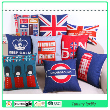 printed pillow and 100% printed cotton material cushion
