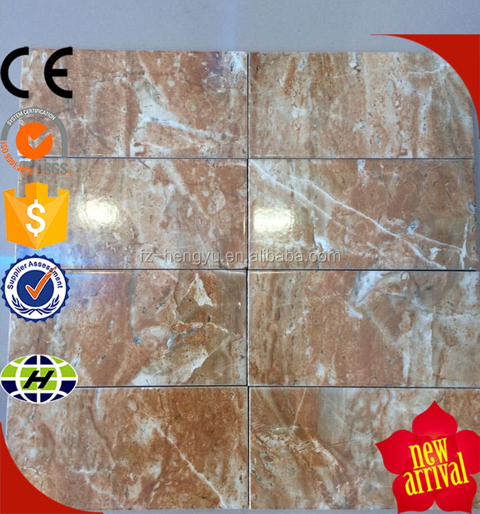Cheap price 100x200mm stone like decorative exterior wall tile