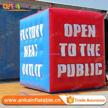 Large pvc cube balloon inflatable square helium balloons for party