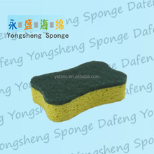 Kitchen cleaning microfiber cloth cellulose sponge