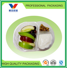 disposable plastic fruit tray/christmas fruit tray/dry fruit tray