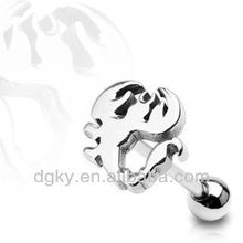 industrial Skorpion cartilage ear piercing jewelry