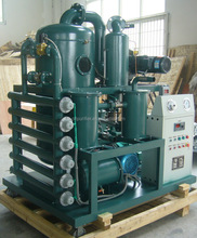 Double stage dielectric oil treatment,zhongneng insulating oil dehydration system