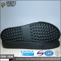 Wholesale price Special design custom orthotic footcare rubber Casual shoe sole with size 35-41