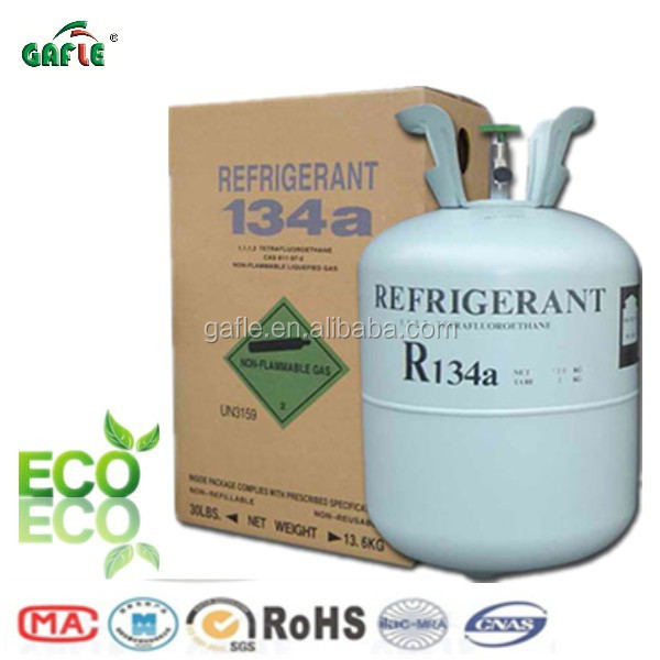 replace r22 refrigerant gas r134a 99.9% wholesale