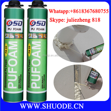 high expansion 750ml waterproof foam sealant