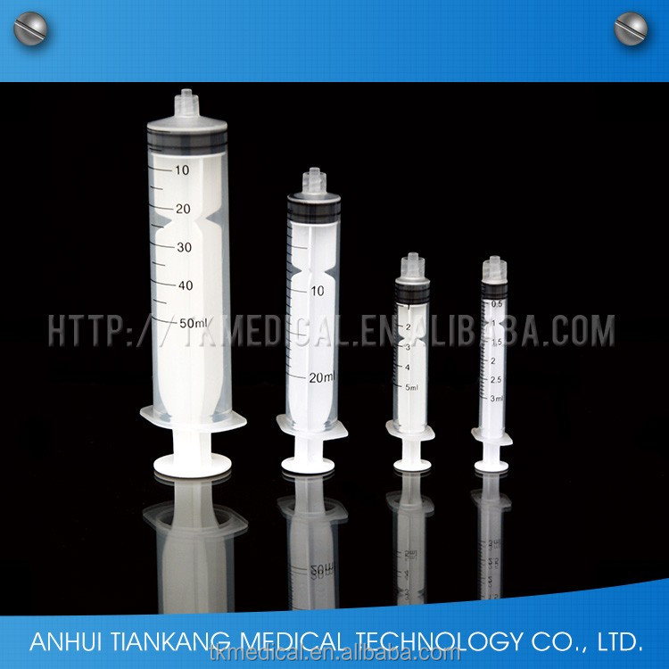 D3PSLK Reasonable Price Disposable Three Part disposable syringe manufacturing plant