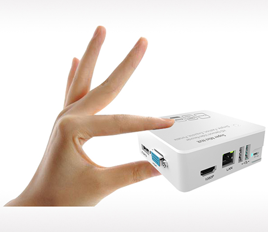 Ultra-mini 8ch NVR 1080P/960P/720P Supports USB disk/Mobile HDD/e-SATA