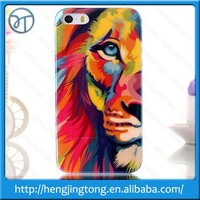 Matte Tiger Matt Wolf Frosted Colored Drawing Animals hard plastic case For iphone 5G 5S 5 4g 4s 4 skin phone cases cover