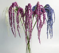Top Grated Realistic foam artificial wisteria flower for home deoration