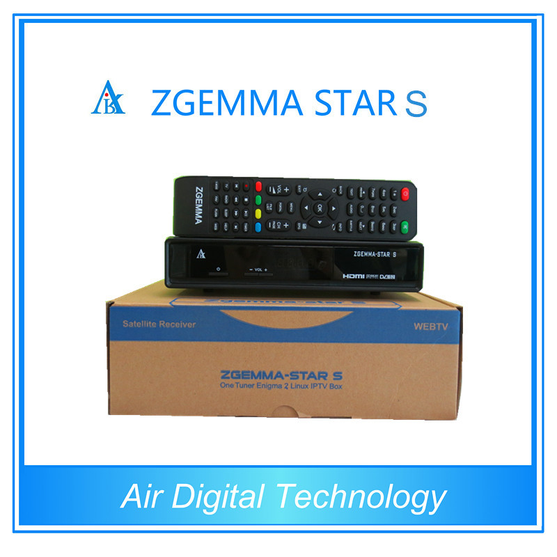 cloud ibox 2 plus UPDATE VERSION Original Zgemma-Star S DVB-S2 Enigma2 satellite receiver with linux operating system