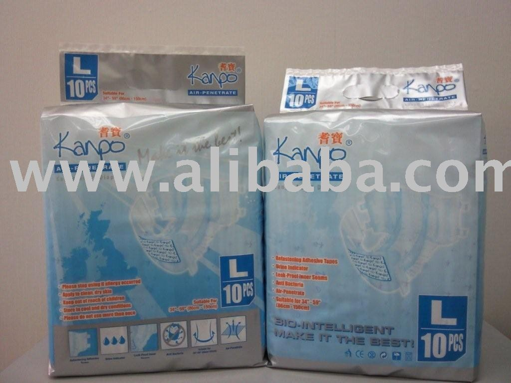 Adult Diapers (Kanpo) 'L'