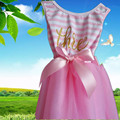 2017 Summer Girls Birthday Dresses Party Dress For 1-12 Years Old