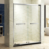 Very Strong Sliding Shower Screen with tempered glass