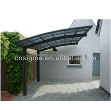 2017 Hot high wind pressure water protect used decorative carports for sale