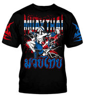 Muay Thai Boxing kickboxing MMA Fight t Shirt