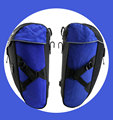 Waterproof Bicycle Rear Seat Carrier Pannier Bag Wholsale, High Quality Bike Trunk Rack Doubble Commuter Bag