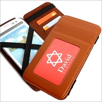 Handy smart phone wallet