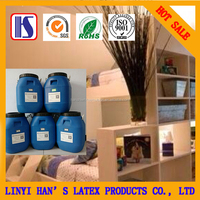 2016 LY Han's Hot Sale super wood working water-based white adhesive glue