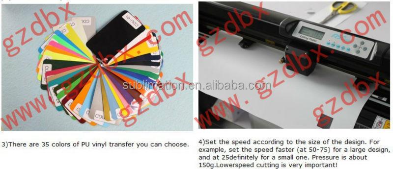 Wholesale Korea Flex Print Pvc Vinyl Heat Transfer Film