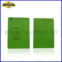 2012 new Luxury Green Stand Leather case for iPad mini wholesale top quality