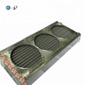 Mini copper three air duct condenser
