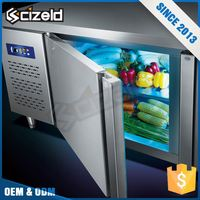 High Reliability Countertop Fruit Display Under Counter Fridge