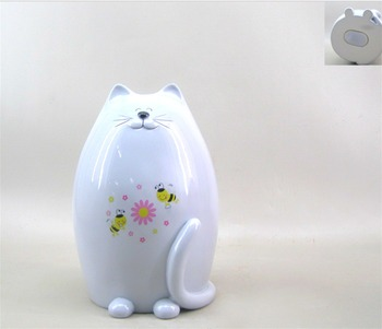 Newest Statues Resin Cat Figurines Piggy Bank