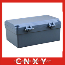 New industrial box / aluminium waterproof enclosure / ip65 junction case with hinged