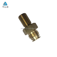 Mass Production Powerful Capacity Factory CNC Turning Threading Custom Brass Screw
