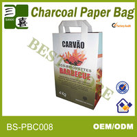 Sealable and waterproof bag for coal packaging