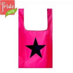 High Quality Best Sell Rose Reusable Foldable Shopping Bag