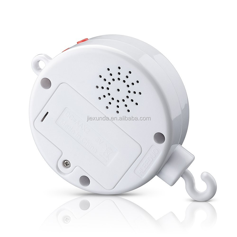 Music Box USB Data Transfer BedBell Hanging Baby Kids Rotary Musical Toy Build-in 128M TF card