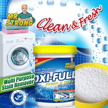 high quality stain remover powder with blue grain
