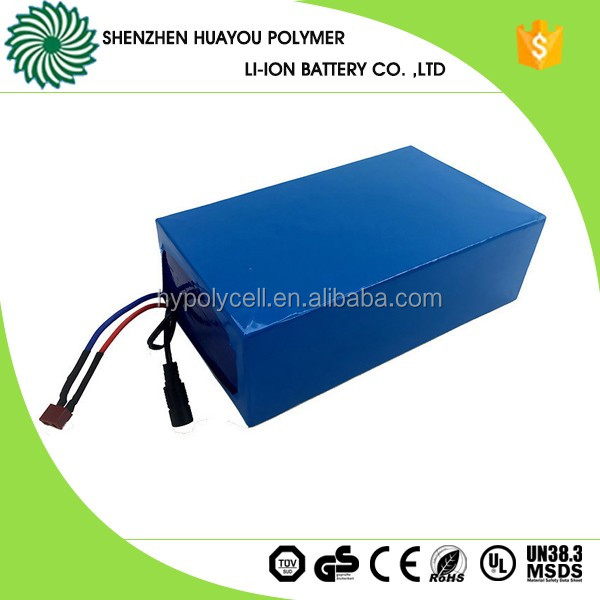 11S5P Rechargeable 26650 E-bike Lifepo4 Battery 36V 16Ah