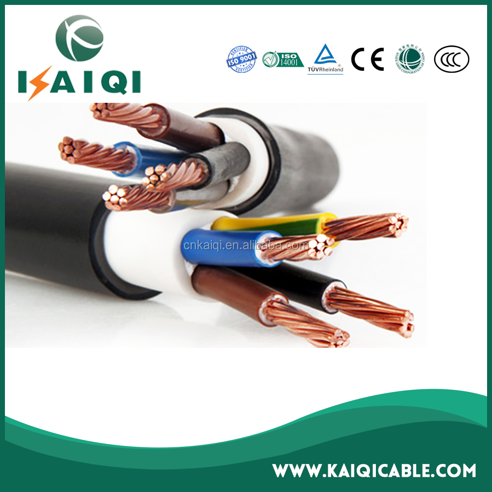 35mm2 50mm2 70mm2 PVC insulated 4 core copper wire copper cable