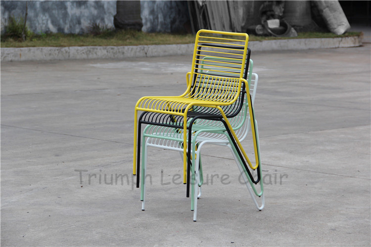 Amazing Triumph Steel Mesh Wire Outdoor Chair / Mesh Beach Chair For Sale / Meash  Garden Chair