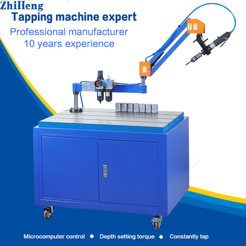 Flex arm air tapping machine automatic pneumatic tapping machine