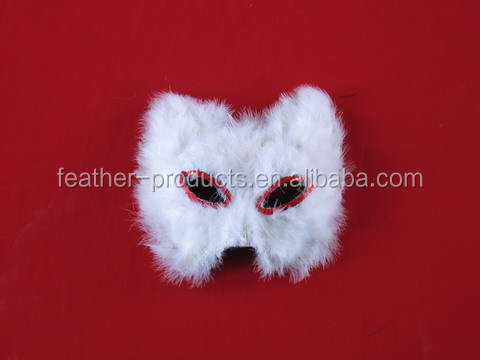 Cheap party masks made of feather - China manufacturer M-609