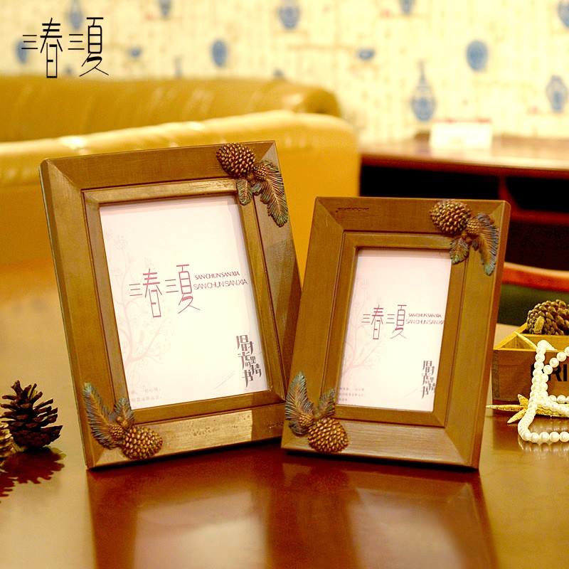 wholesale customize polyresin decorative picture photo frame