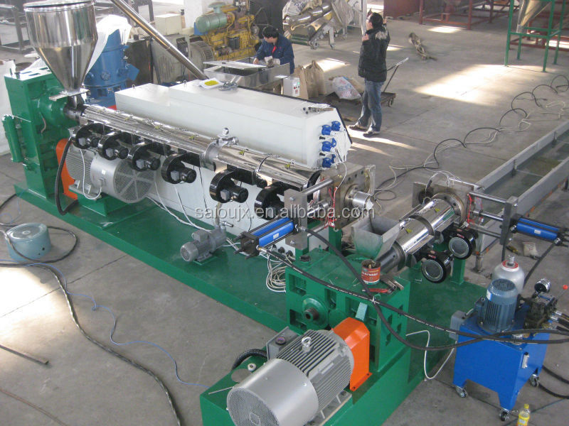 Hdpe Pelletizing Waste Plastic Recycling Machine