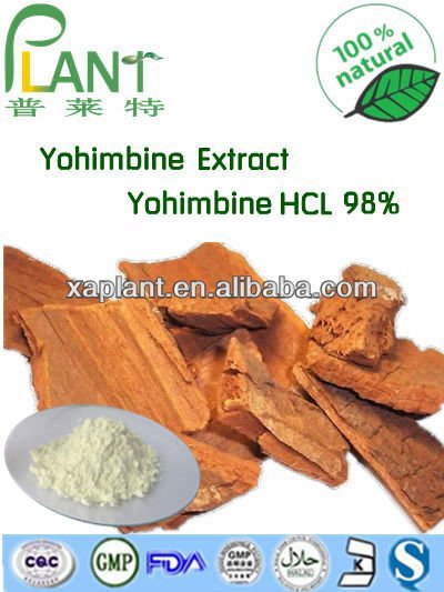 100% Pure medicine to enlarge penis yohimbine hcl powder