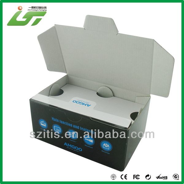 OEM hanging garment carton box factory