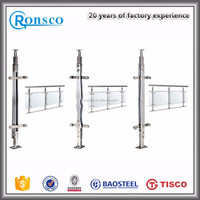 stainless steel stair cable railing systems /handrail for boat
