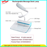 Home goods rechargeable usb charge table led lamp for the house